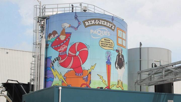 Ben & Jerry's turns ice cream into energy