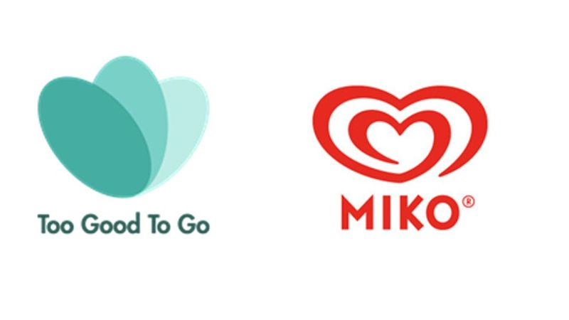 Logos of TGTG and Miko