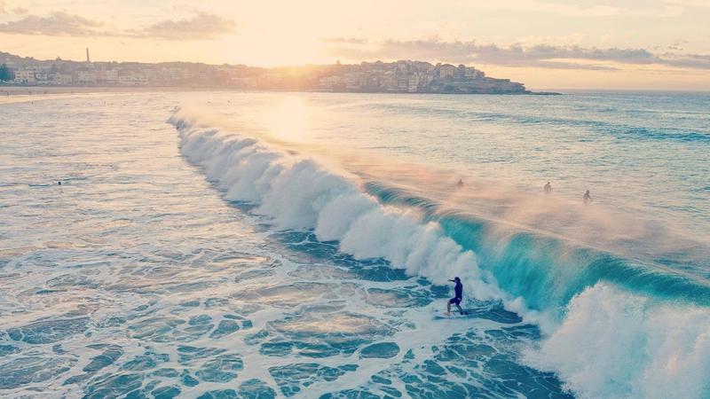 Australia's iconic Bondi beach