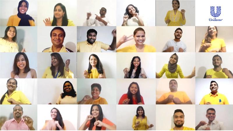 Unilever Sri Lanka HR team