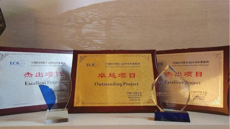 Held five ECR awards2