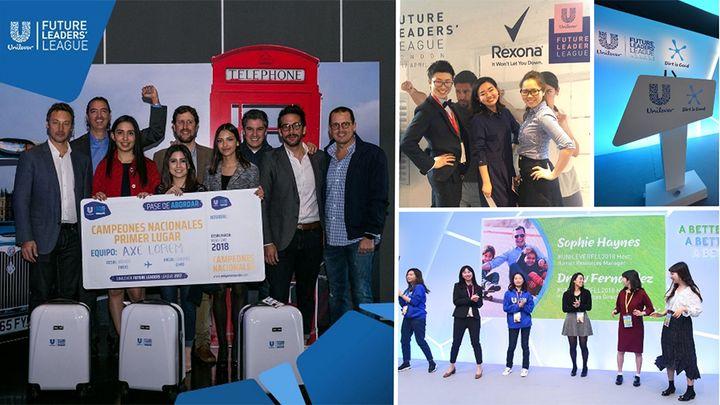 Unilever Future Leaders League group photo