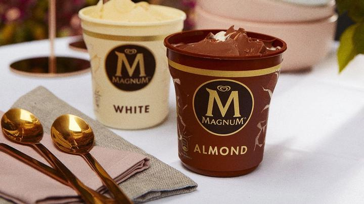Magnum launches new tubs made from recycled plastic