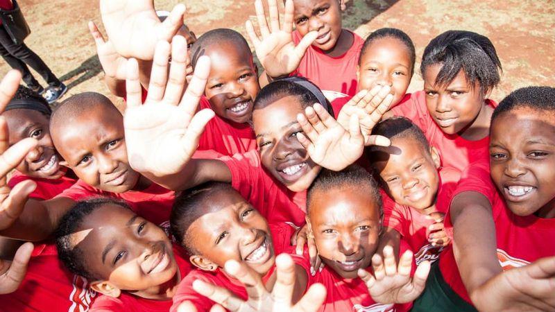 Lifebuoy Faranani Learners Give a High 5