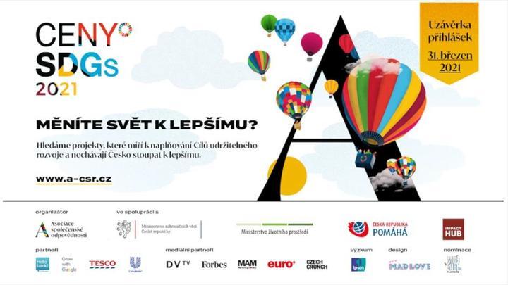 Unilever popáté podporuje Ceny SDGs včetně nové Akademie SDGs