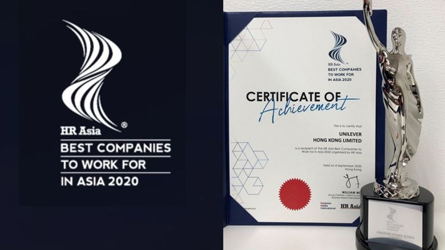 Unilever gets recognized as Best Company to Work for in Asia