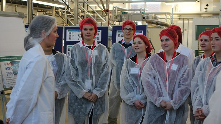 people in factory
