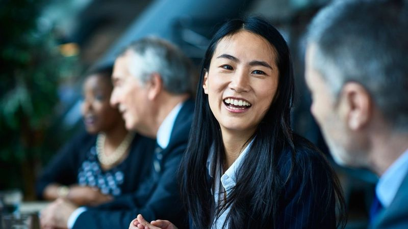 Asian businesswoman. 50% of Unilever's managers are women; here are seven actions to move forward gender equality