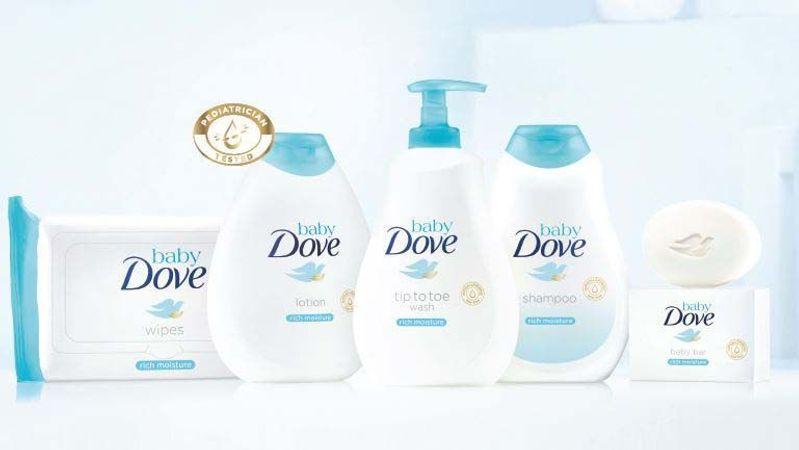 Dove - Baby product range