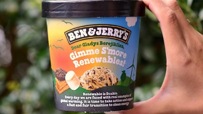 """Pint of B&J Ice cream flavour – """"Gimme S'more Renewables"""""""