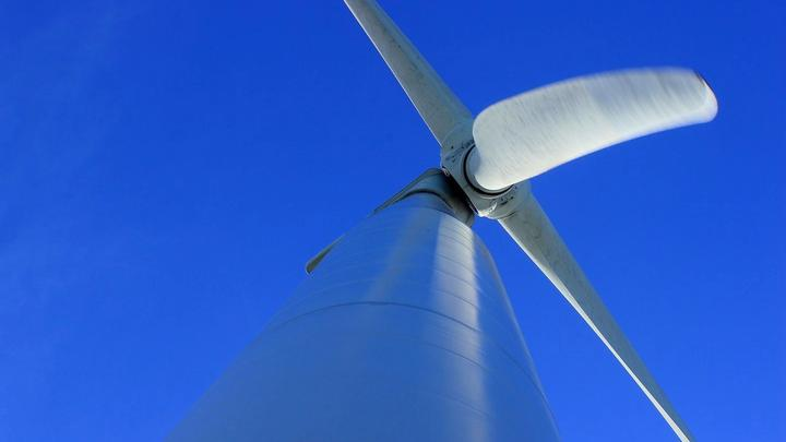 A wind turbine – one of the sources of natural energy we are using to improve our sustainable business practices