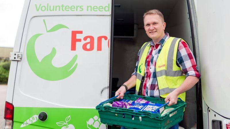 Unilever's charity partner Fare Share