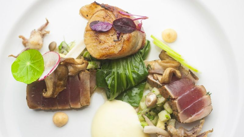 South Africa Chef Of The Year Henrico Starter