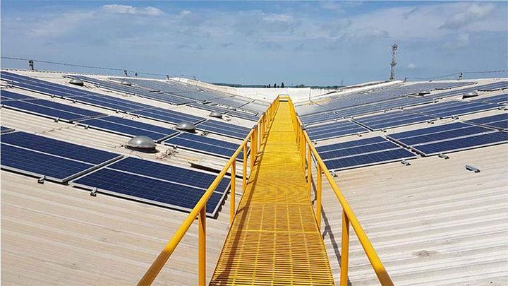Dow Jones Solar Panel