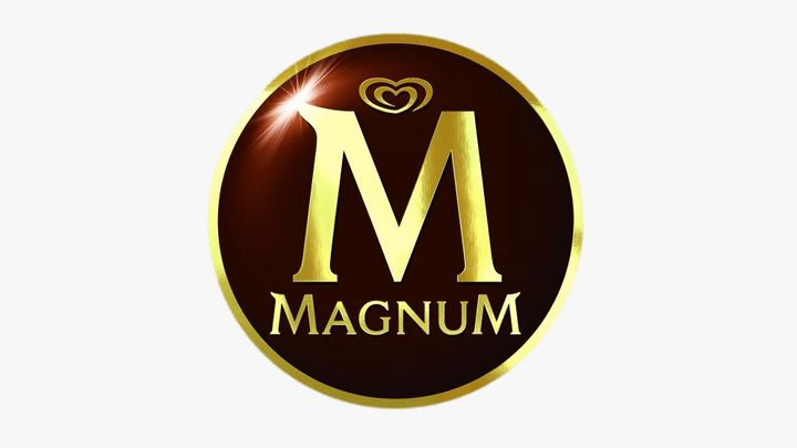 Magnum logo with white background
