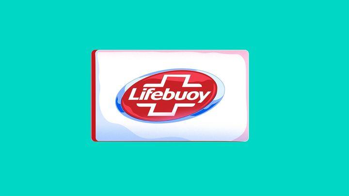 A bar of Lifebuoy soap