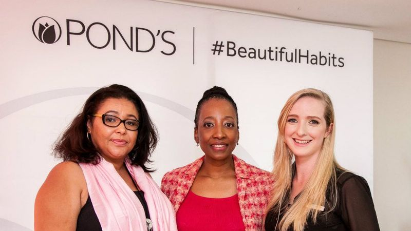 PONDs Research and delevopment team with Dr Mpofu