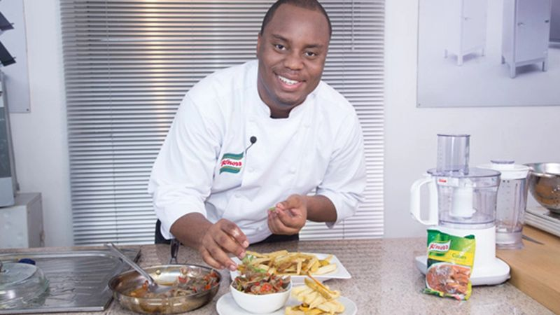 A Knorr development chef demonstrates how to make a meal more nutritious
