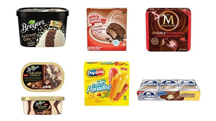 Nostalgic Ice Cream Flavors - Breyers, Good Humor, Klondike, Magnum, and Poposicle