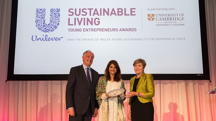 Sara Saeed, YEA 2016 winner