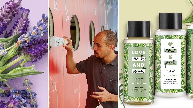 Unilever Sustainable living banner