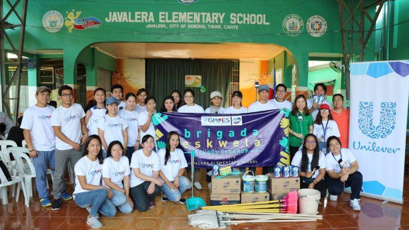 109-Unilever-GIVES-volunteers-join-Brigada-Eskwela-2019-3