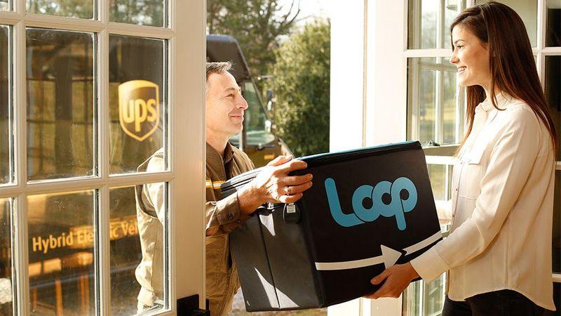 Loop delivery