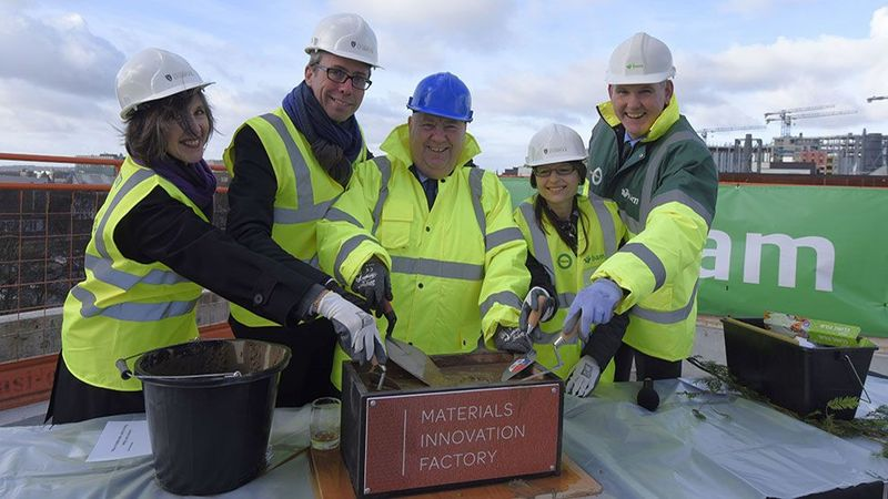 Materials Innovation Factory 'tops out'