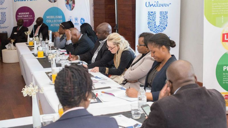 Delegates at USLP Mobilising Collective Action event in Zimbabwe