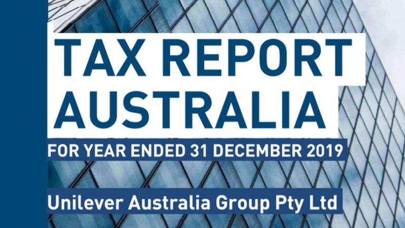 tax report 2019