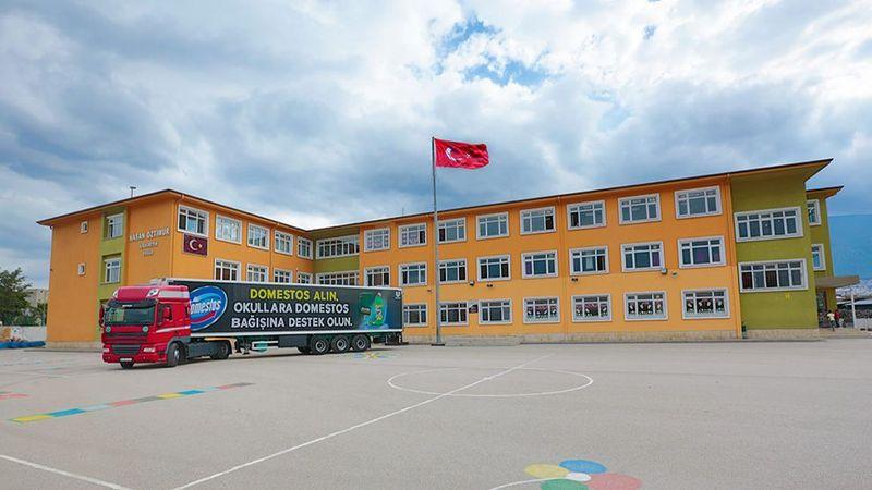 Turkey Okul bagisi kampanya