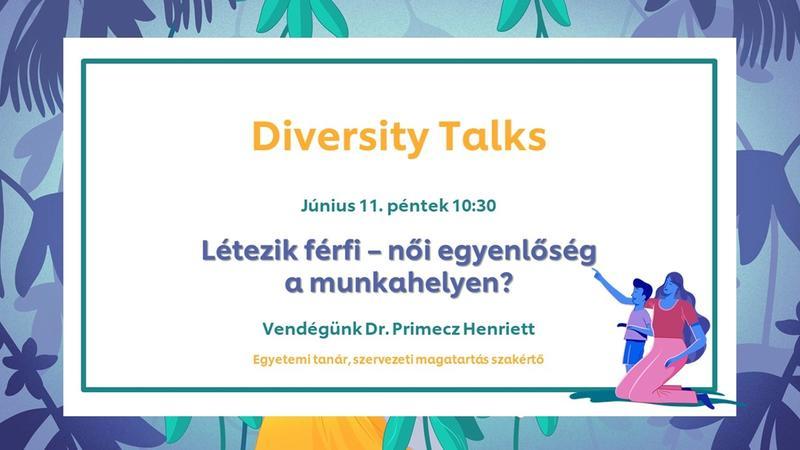 Diversity Talks esemény meghívó szövege