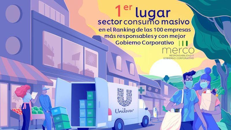 Unilever 1er consumo masivo merco