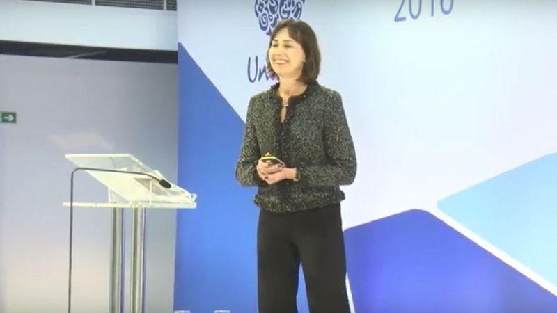 Amanda Sourry at the Unilever Investor Seminar 2016