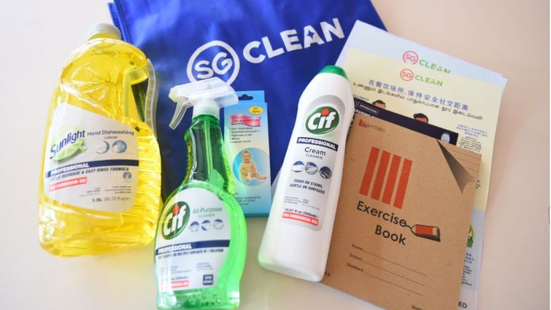 Unilever care packages