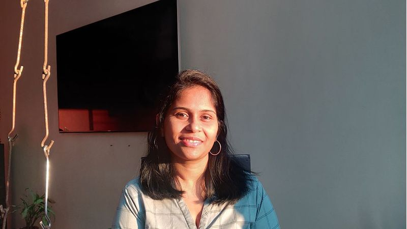 A photo of Neetu Verma, a woman working in science at Unilever
