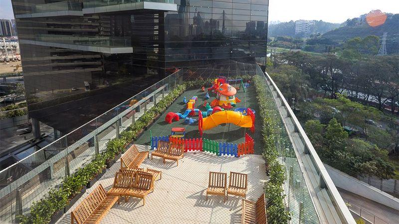 Brazil playground externo
