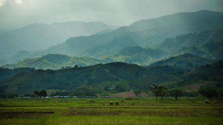 General view near Antanimbaribe