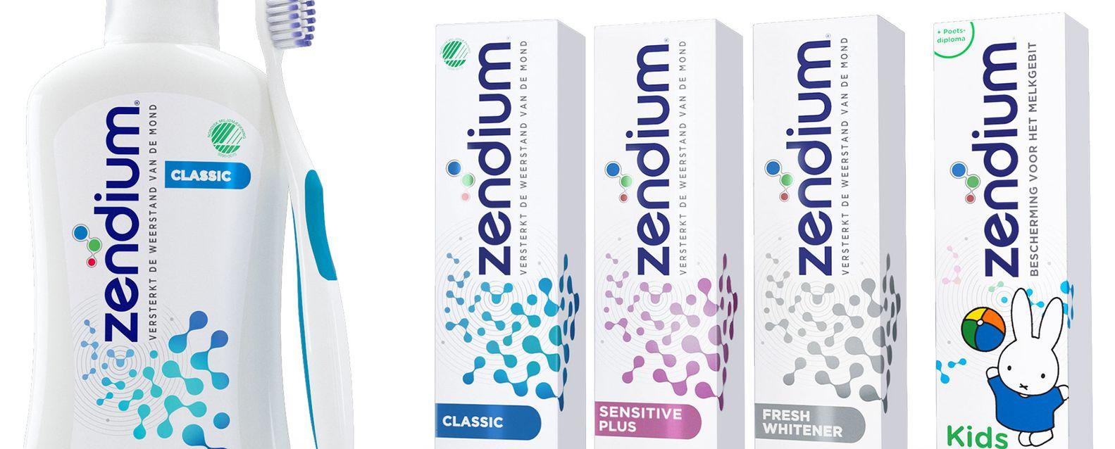 Zendium toothpaste banner