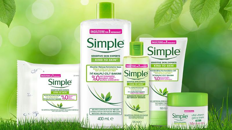 simple personal care products