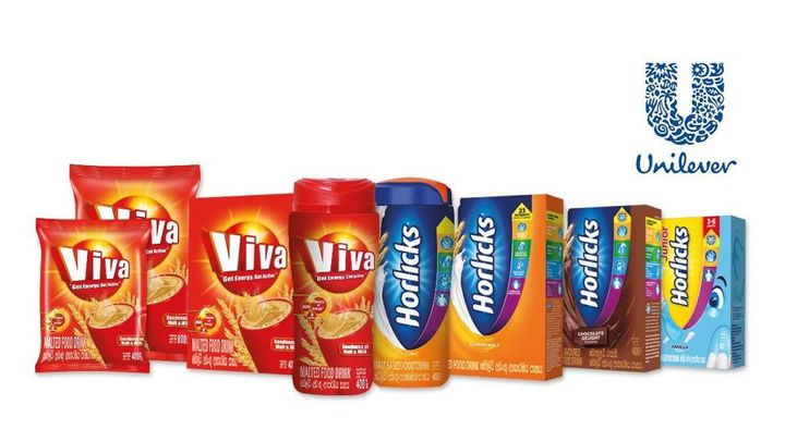 Horlicks and Viva products