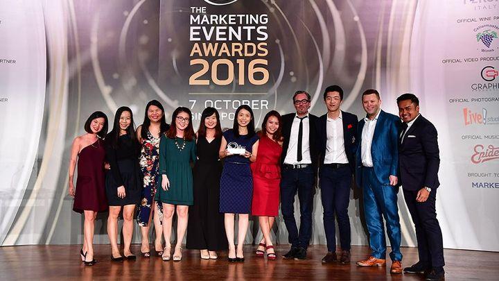 SGP Marketing events awards 2016