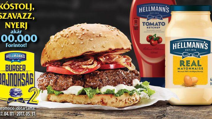 Ismét keressük Budapest legjobb Hellmann's szósszal készült burgerét!