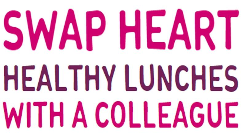 """""""Swap heart healthy lunches with a collegue."""""""