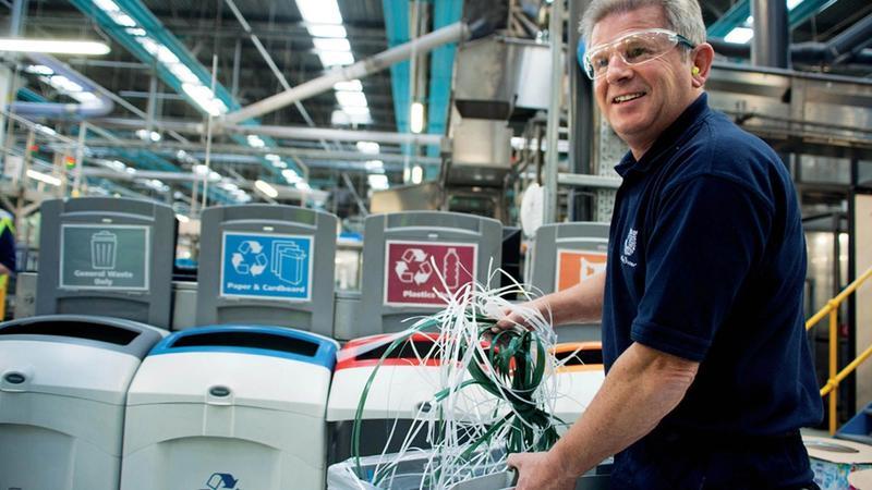 Unilever factory worker