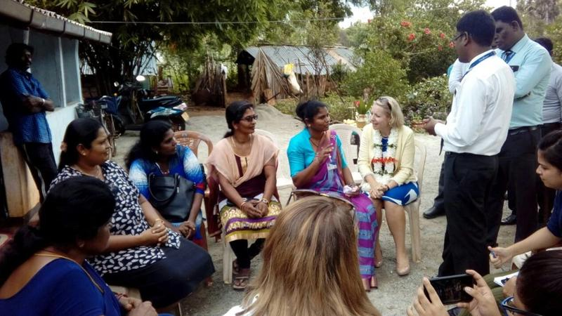 Britist Highcomisioners Vavuniya Visit Pictures