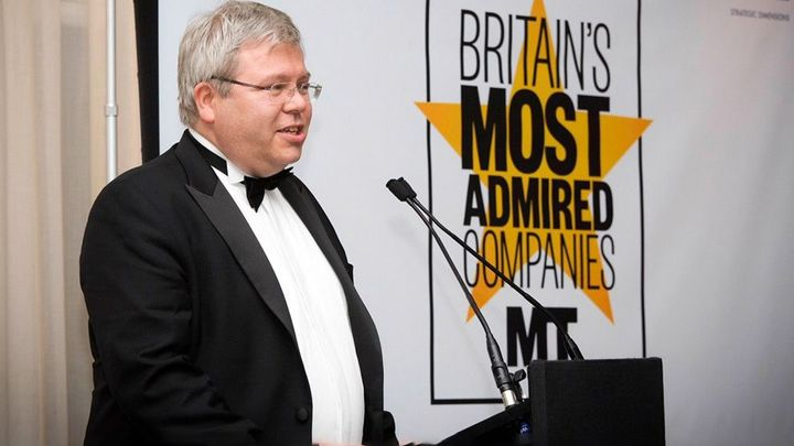 Britain's most admired companies