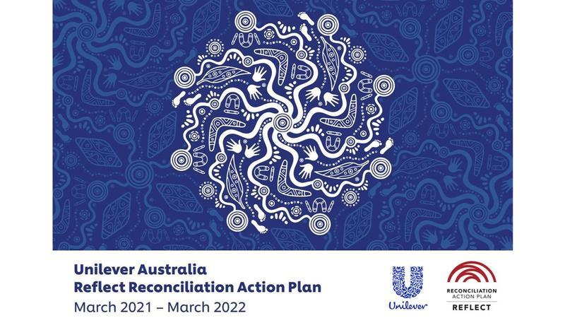 Unilever Australia's Reconciliation Action Plan artwork