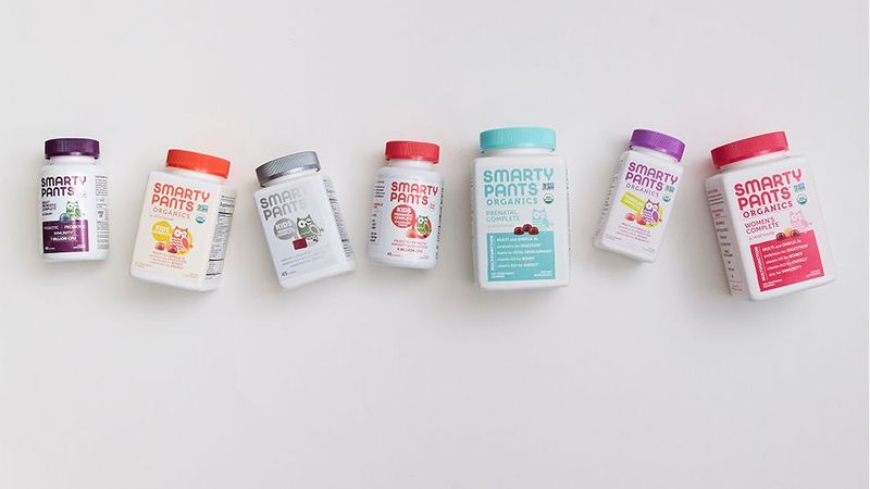 SmartyPants Vitamins products display