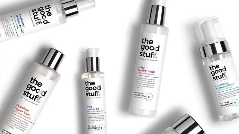 Non-rinse conditioners from Unilever brand 'the good stuff'